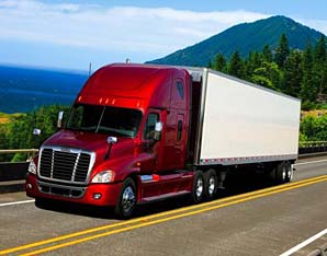 Truck load freight cargo